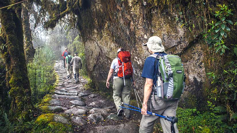 walking the inca trail