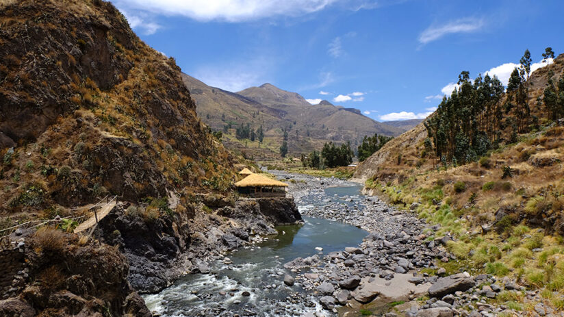 about the valley colca canyon rafting