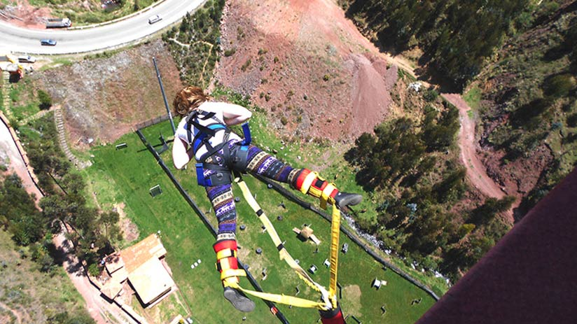 bungee jumping cusco