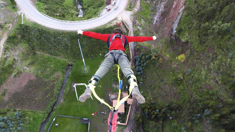 bungee jumping poroy