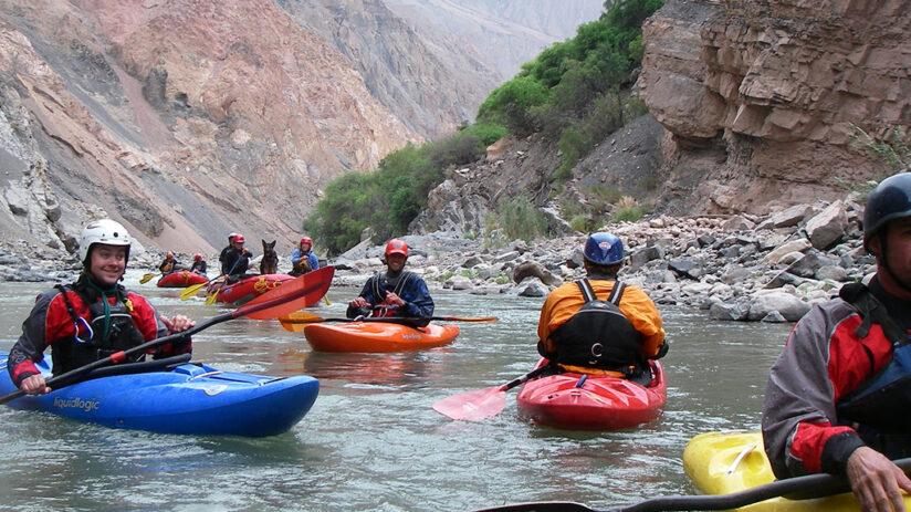 colca canyon rafting