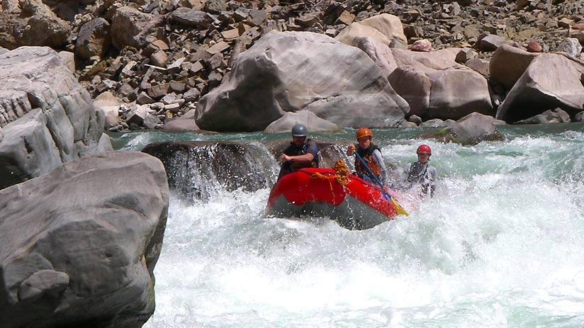 colca canyon rafting adventure