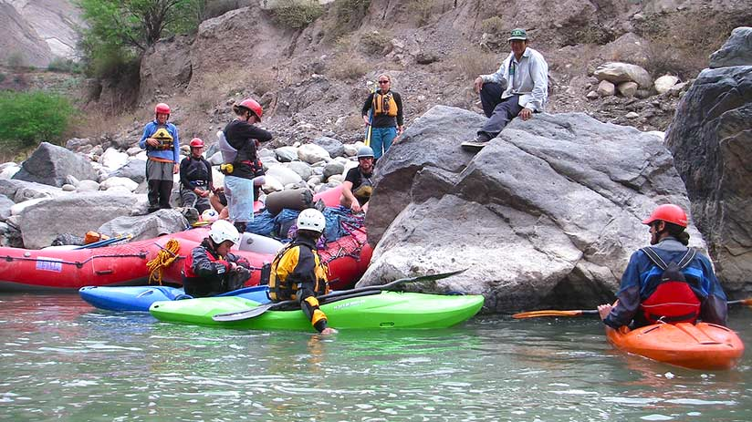 colca canyon rafting group