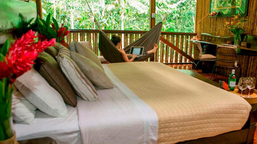 lodges in tambopata amazon villa