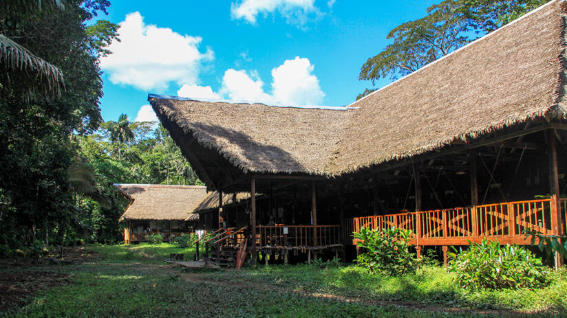 lodges in tambopata tambopata research center