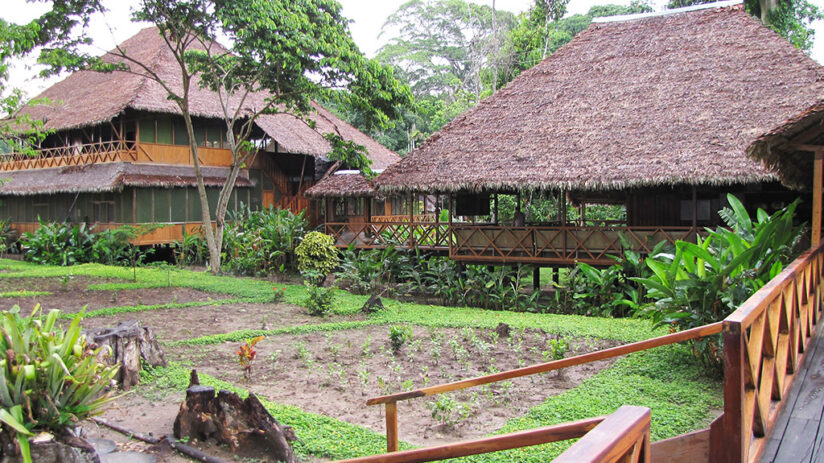lodges in the tambopata national reserve