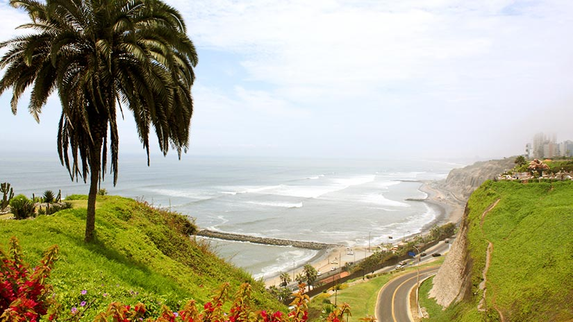 beaches in peru miraflores