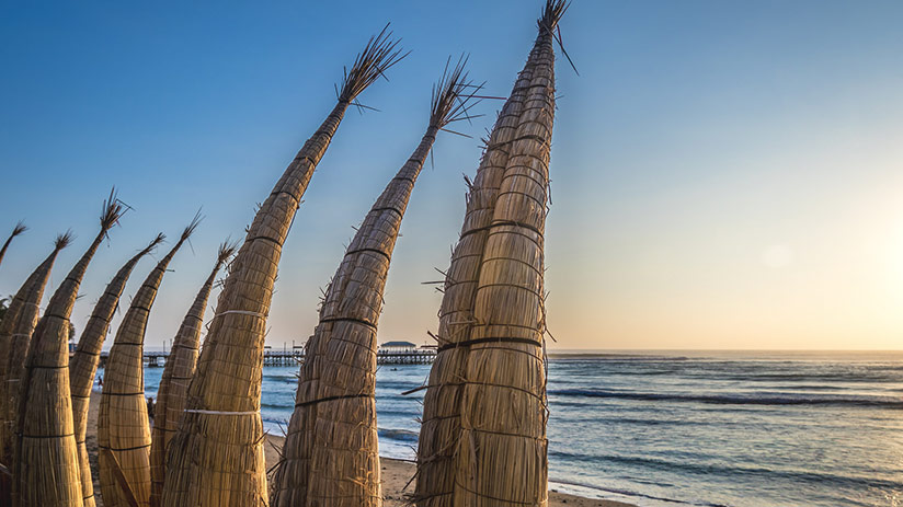 peru beaches huanchaco
