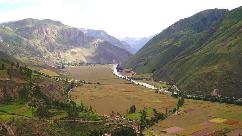 pisac ruins sacred valley cusco