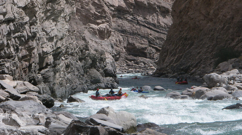 rafting in the colca canyon six days