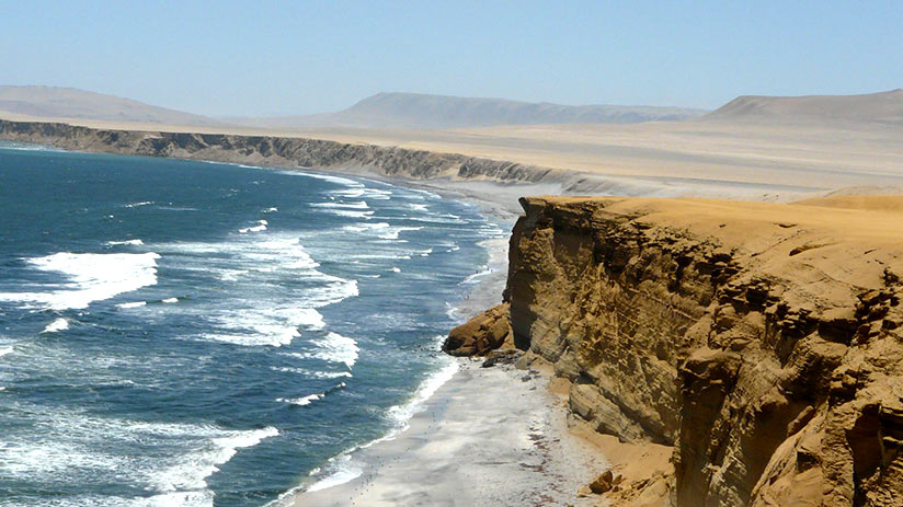 the best south american country to visit paracas beach