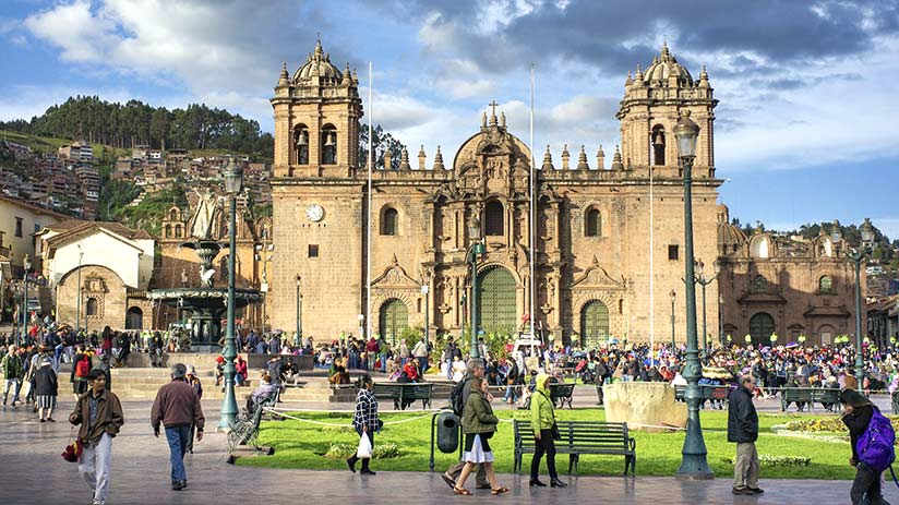 the best south american country to visit peru plaza de armas cusco