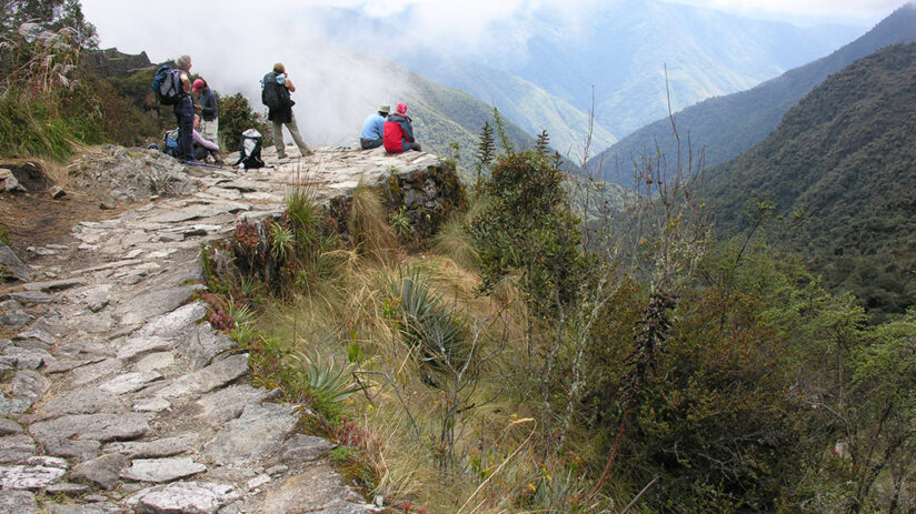 vacation with friends inca trail