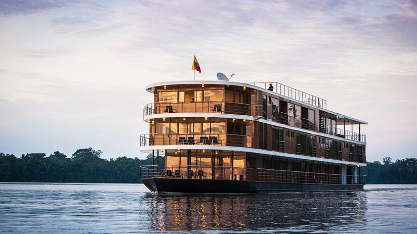 vacation with friends luxury amazon cruise