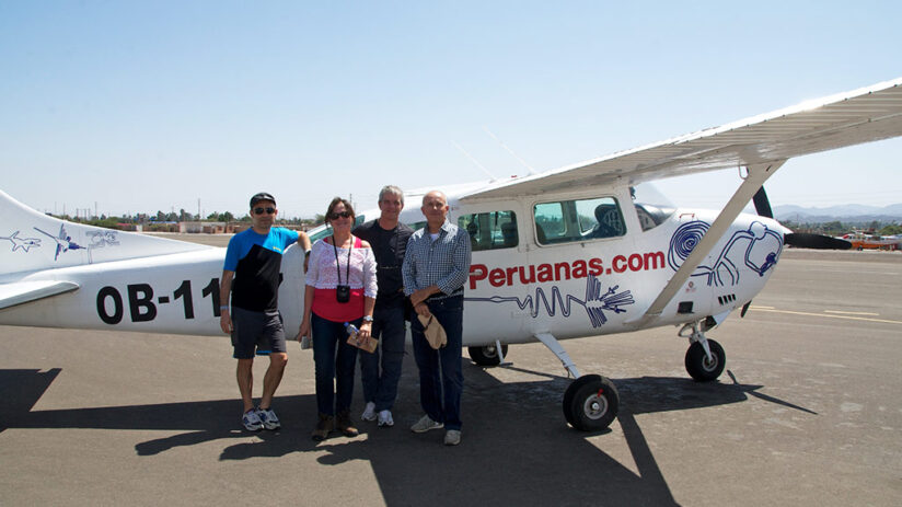 vacation with friends nazca lines