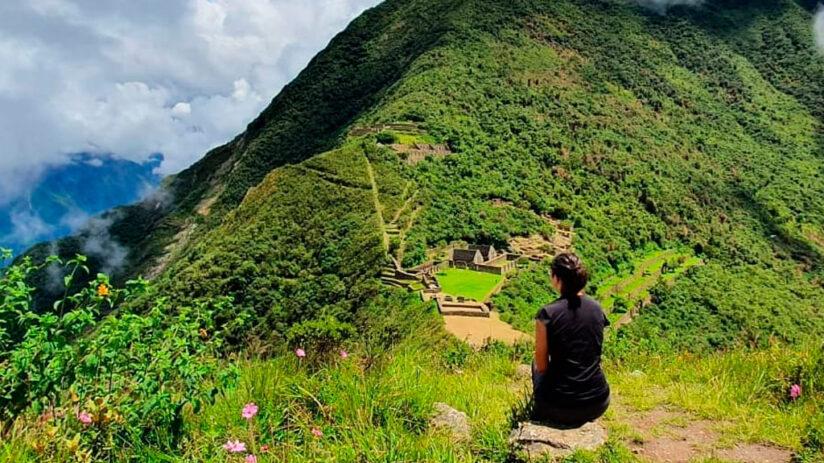 trekking to machu picchu choquequirao