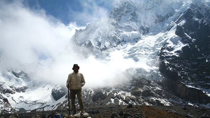 trekking to machu picchu salkantay trek