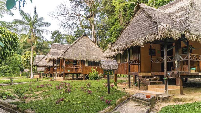 where to go for a relaxing vacation eco lodges