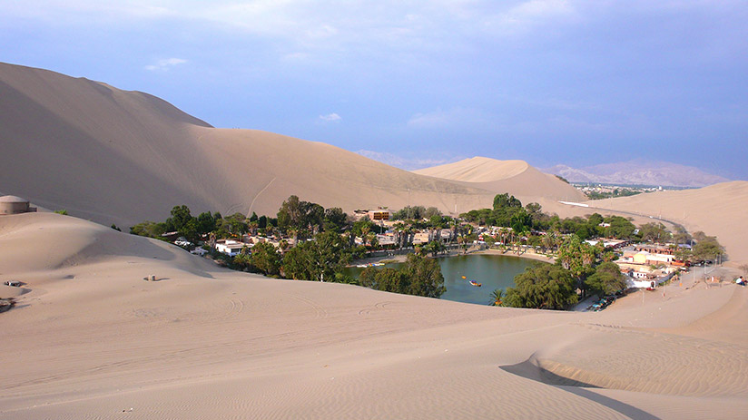 where to go for a relaxing vacation huacachina oasis
