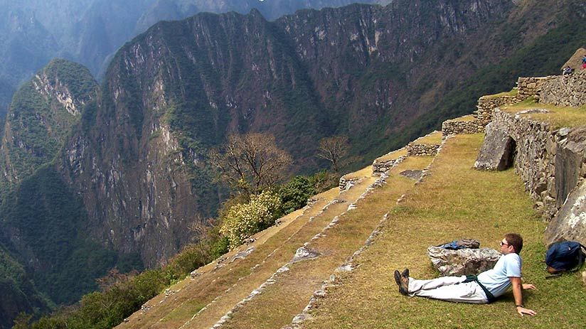 where to go for a relaxing vacation machu picchu