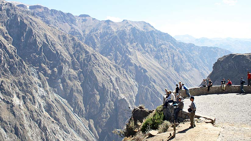 short vacation ideas in colca canyon