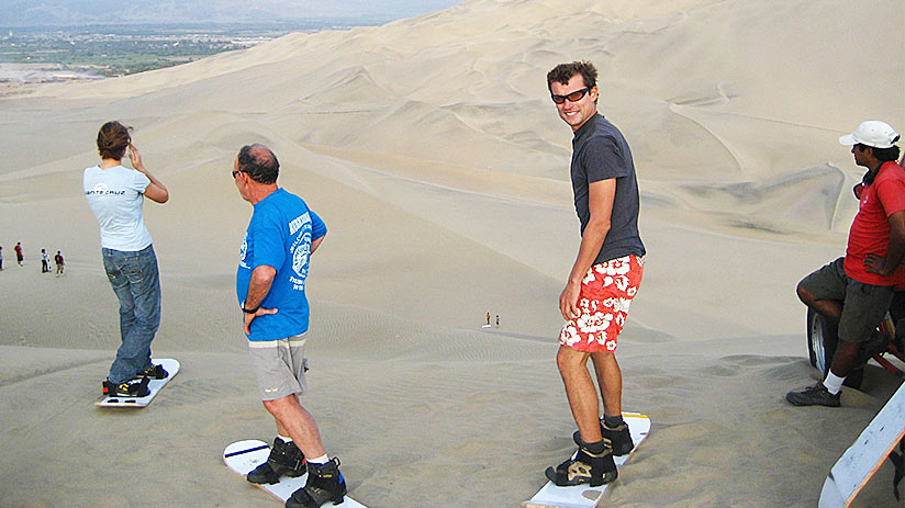 short vacation ideas huacachina