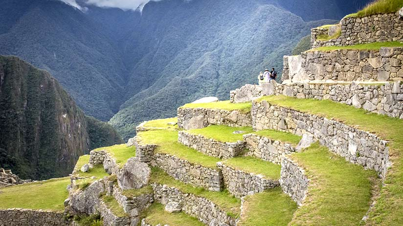 things to do in machu picchu agricultural terraces