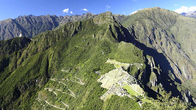 things to do in machu picchu view from huayna picchu mountain
