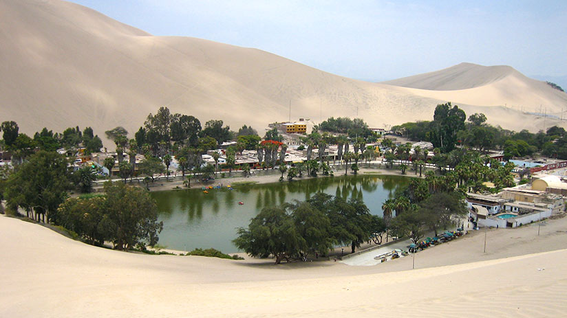 adventure travel for young adults huacachina