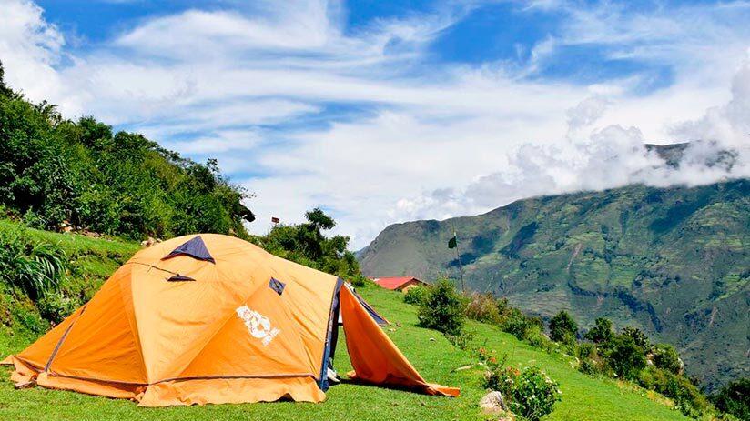 inca trail to machu picchu accommodation and food