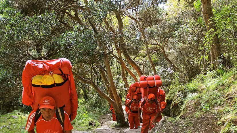 inca trail to machu picchu always be prepared