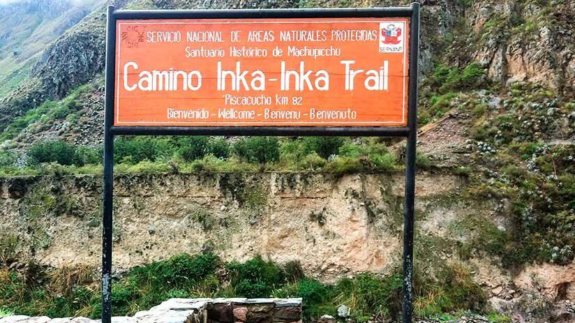 inca trail to machu picchu day one