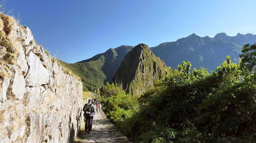inca trail to machu picchu fourth day