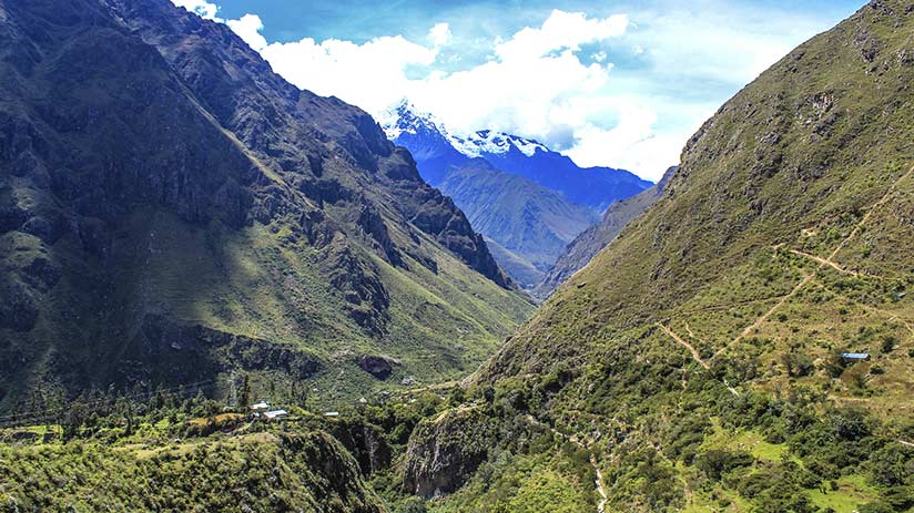 inca trail permits landscapes