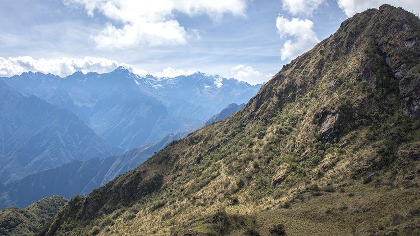 inca trail to machu picchu hike