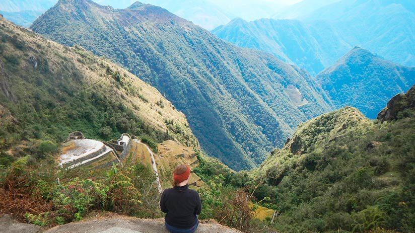 inca trail to machu picchu third day