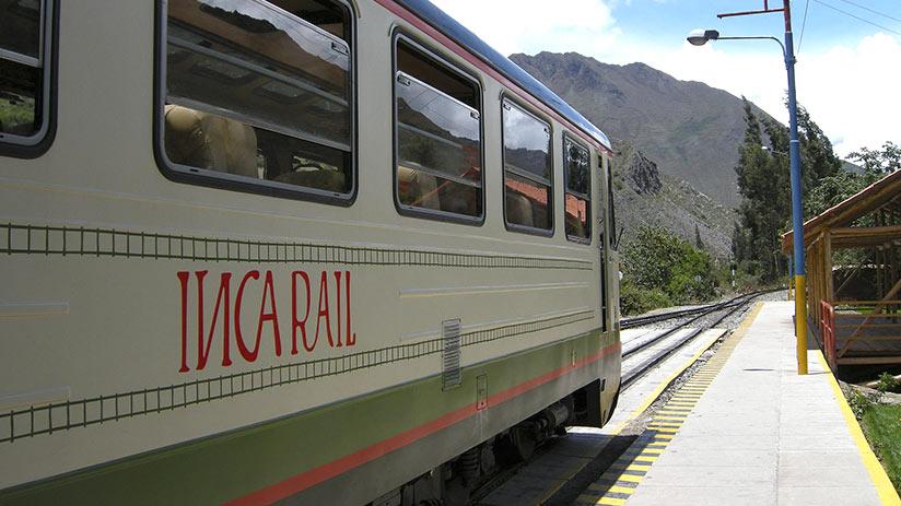 train to machu picchu inka rail