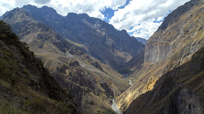famous places in peru colca canyon
