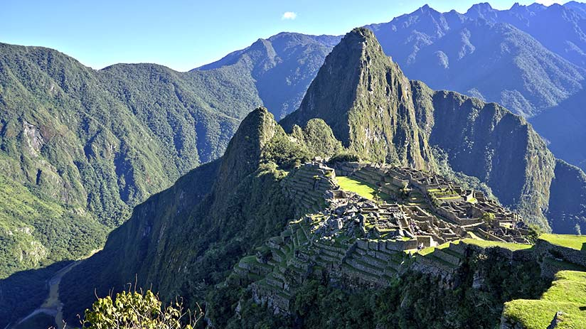 famous places in peru machu picchu
