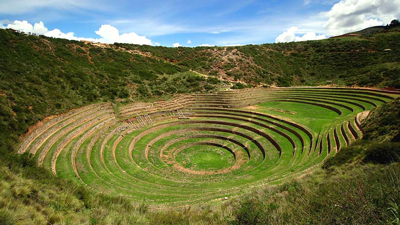 famous places in peru moray