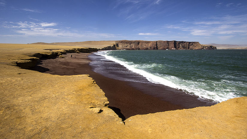 famous places in peru paracas national reserve