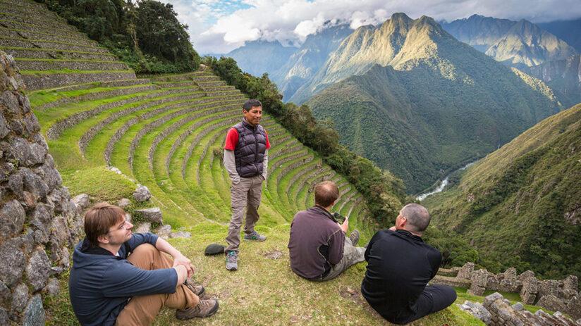 hiring your machu picchu guided tour