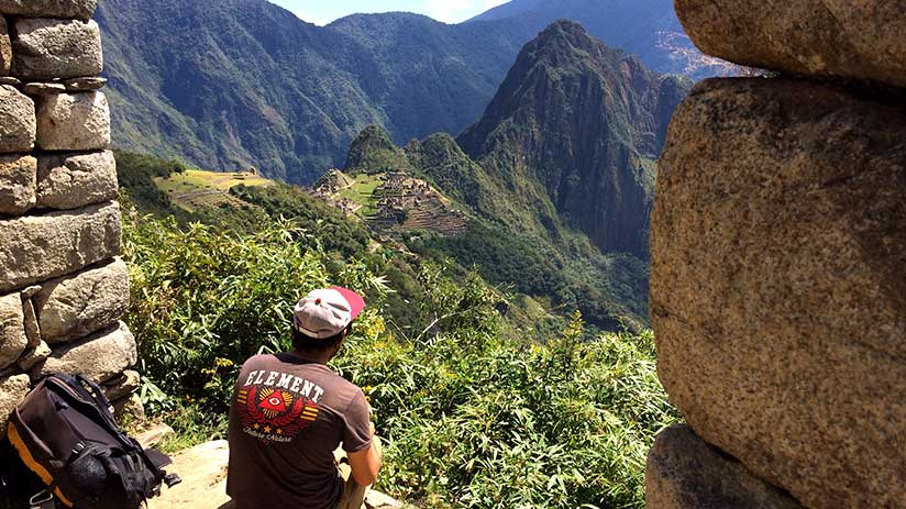 machu picchu guided tour have a great time