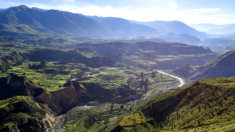 tourist attractions in peru colca canyon