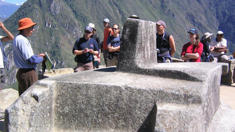 visiting machu picchu guided tour