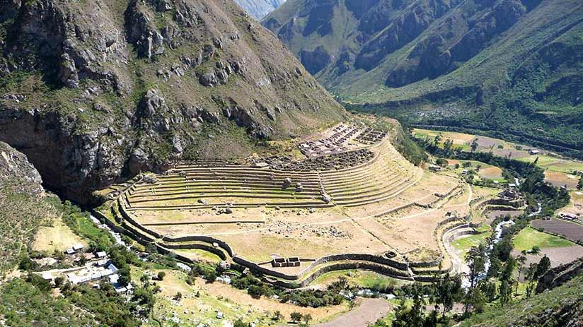 get to machu picchu in the dry season
