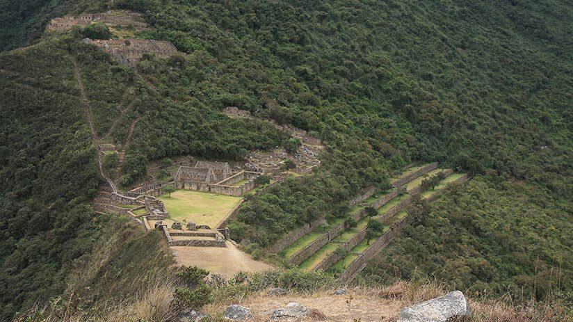 tourist attractions in peru choquequirao