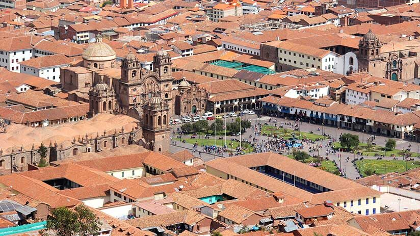 cusco tourist map
