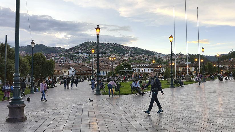 cusco tourist map information