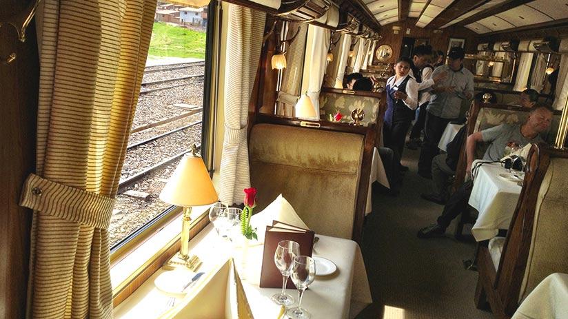 hiram bingham train cost includes